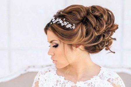 بالصور اجمل تسريحات الشعر للعروس 2017