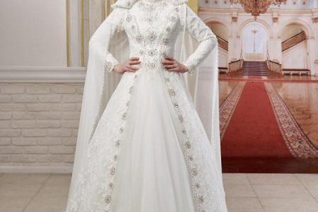 اجمل تشكيلة فساتين الزفاف للعروس المحجبة