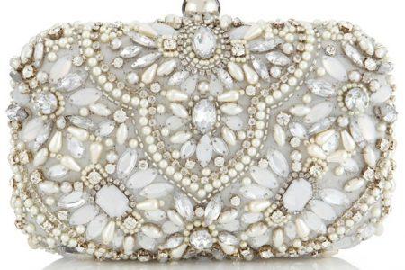 تصاميم حقائب يد مرصعة لعروس2017