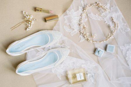 احذية عروس فلات.. راحة و شياكة