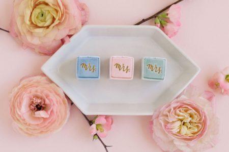 أفكار جديدة مذهلة لعلبة خاتم الزفاف
