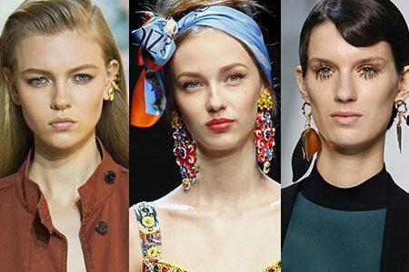 جديد أقراط ربيع 2017 من أهم عروض الأزياء