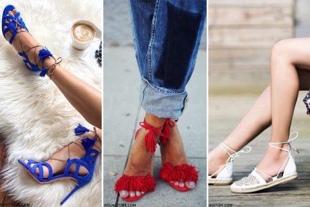 أحذية الاكازارا اختيار نجمات الموضة لموسم 2017