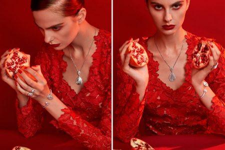 الأحمر يطغى على تقديم شوميه و كارتييه للمجوهرات