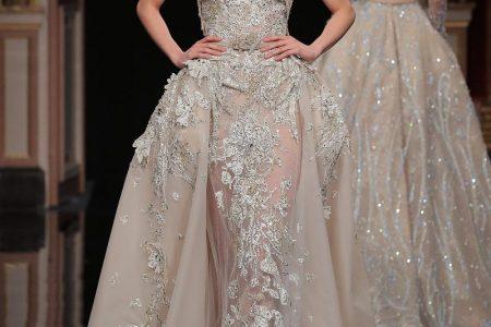 افخم الفساتين الطويلة المطرزة من عالم الموضة ل2017