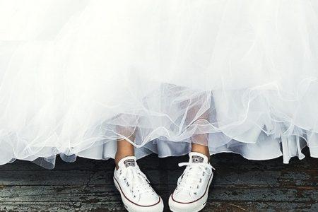 احذية العروس الرياضية فاجئي بها الكل يوم زفافك