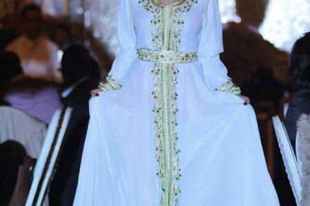 قفطان العروس 2017 مزدان بأجمل الألوان و القصات