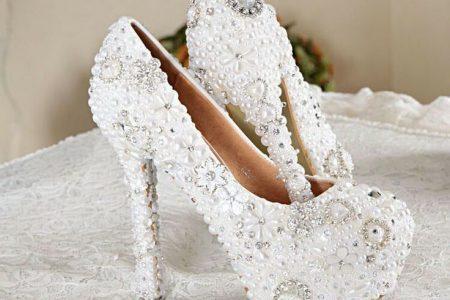 احذية راقية للعروس  2018