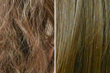 علاجات الشعر الجاف و منحه الترطيب اللازم